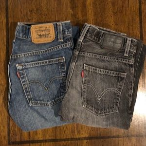 Boys Levi's 514 size 12reg W26 x L26 TWO FOR $12
